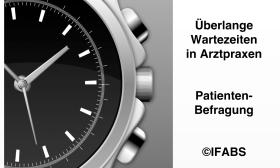 IFABS Patientenbefragung Wartezeit