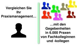 Vergleichen lohnt sich: Benchmarking-basierte Optimierung des Praxismanagements - Presseinformation