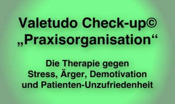 Valetudo Check-up Praxisorganisation