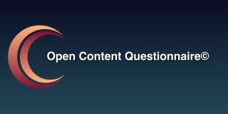 Open Content Questionnaire© (OCQ)