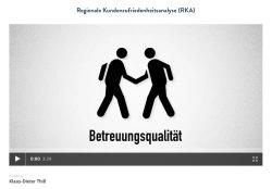 Die Regionale Kundenzufriedenheits-Analysen (RKA)