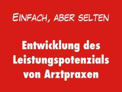 Arztpraxis Leistungspotenzial Entwicklung IFABS Thill.001