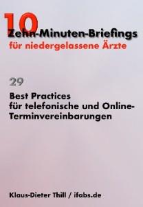 Thill Best Practices für telefonische und Online-Terminvereinbarungen