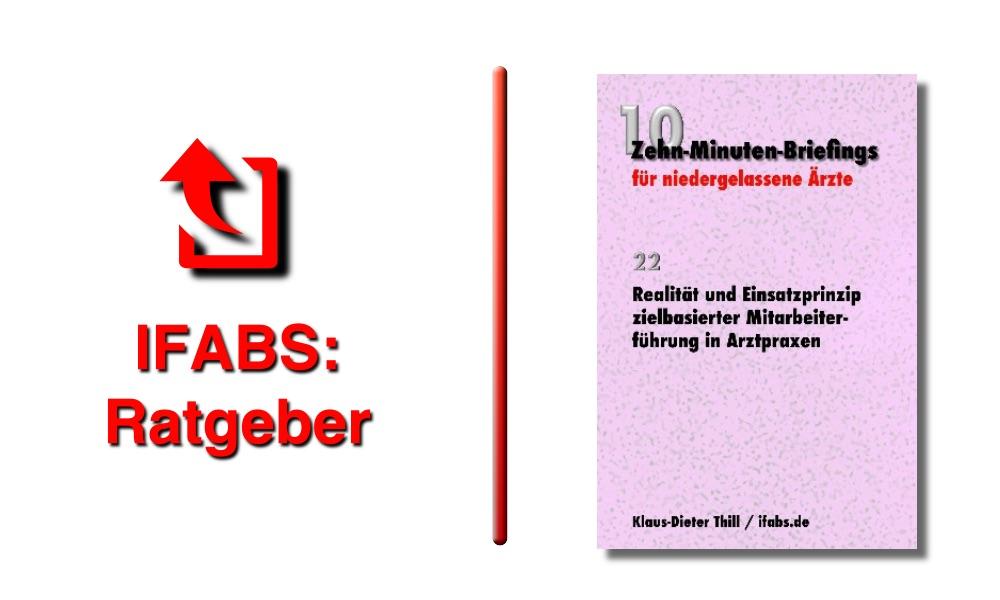 IFABS Thill Arztpraxis Personalführung Zielvereinbarung