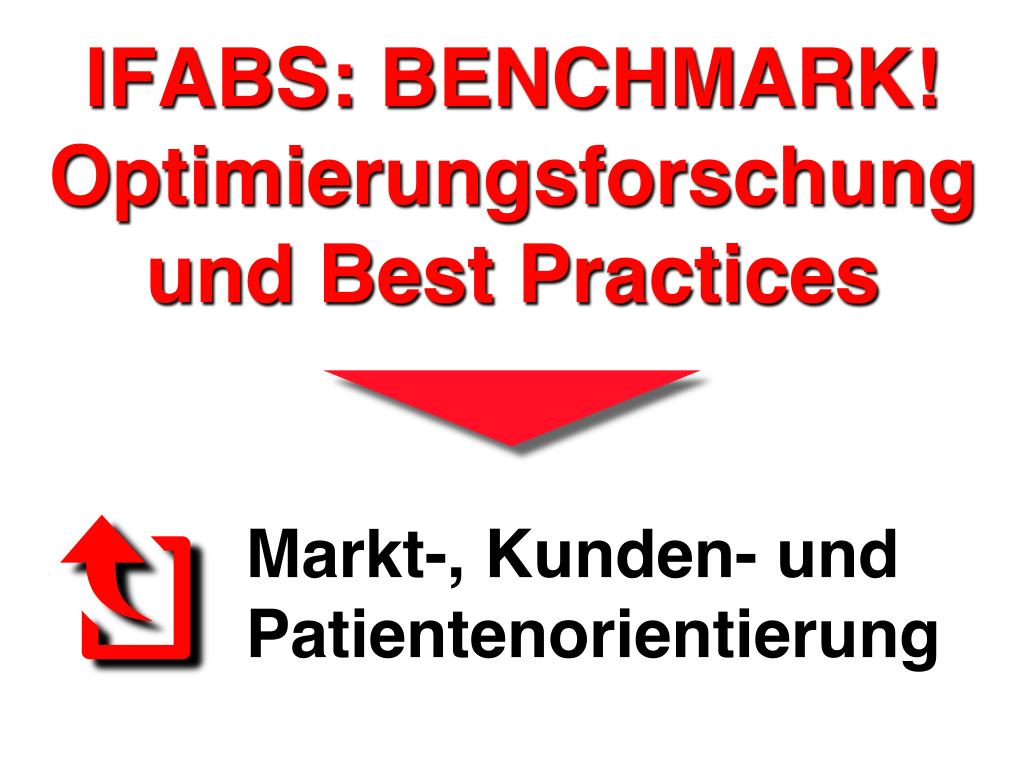 IFABS Benchmark Optimierungsforschung und Best Practices