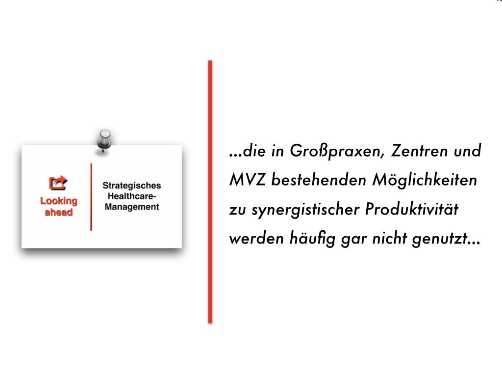 White Paper zur Praxisführungs-Qualität in ambulanten Großbetrieben, Zentren und MVZ