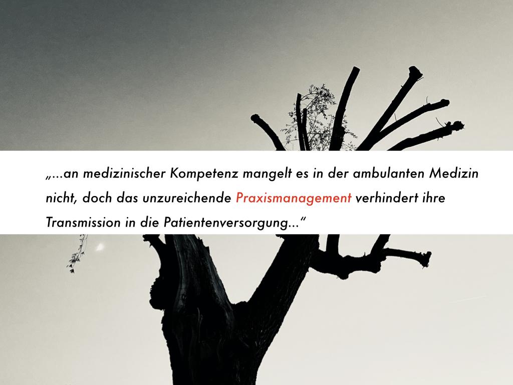 """Digitalisierung der ambulanten Medizin: An erster Stelle steht der Kampf gegen die System-Krankheit """"Praxismanagement-Insuffizienz"""""""