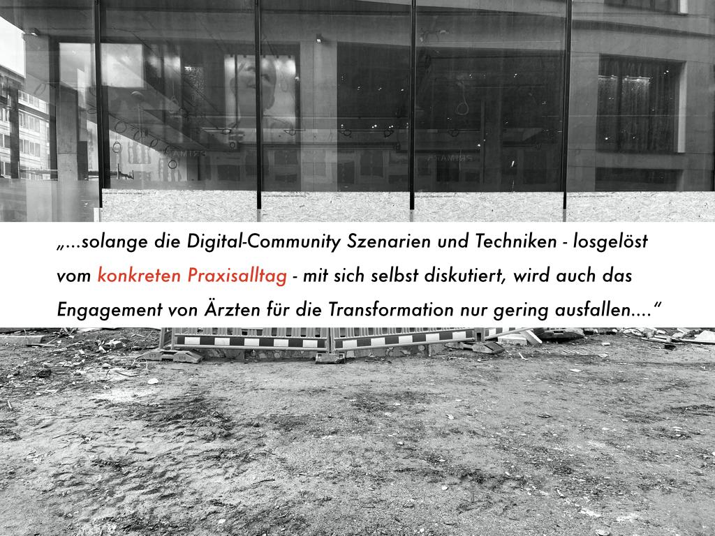 Digital unterstütztes Praxismanagement: Kaum Hilfe von Digital-Experten bei der der konkreten Umsetzung