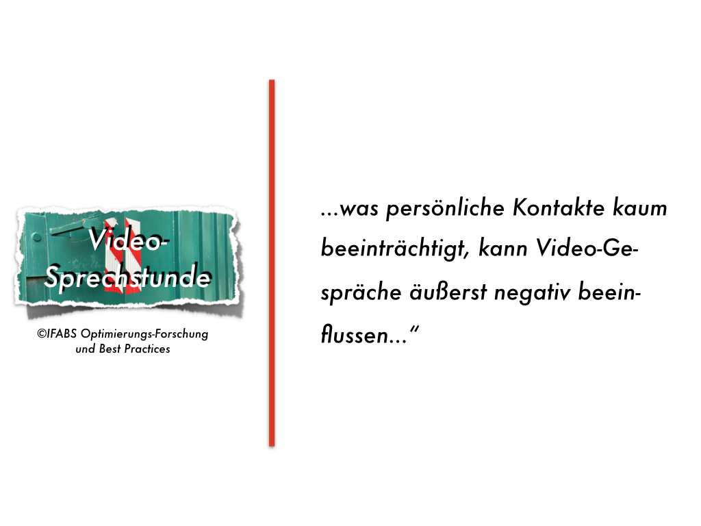 Best Practices für die Video-Sprechstunde (2): Störungsfreie Kommunikation