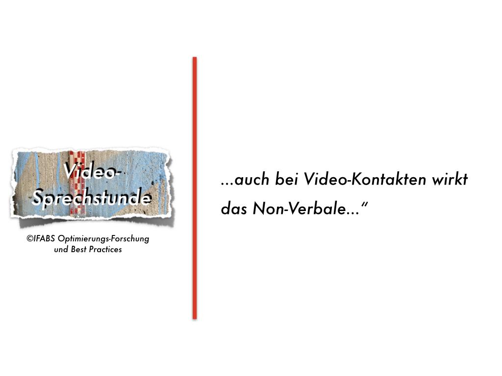 Best Practices für die Video-Sprechstunde (4): Körpersprache